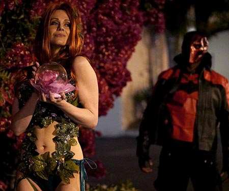 Maitland Ward xxx porn parody as Poison Ivy along side Isiah Maxwell